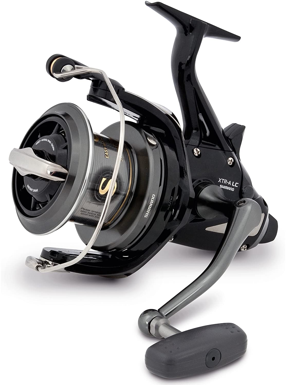 Shimano Medium Baitrunner CI4 XTR A Longcast, Baitrunner Carpfishing And Surfcasting Fishing Reel, MBTRCI4XTRALC