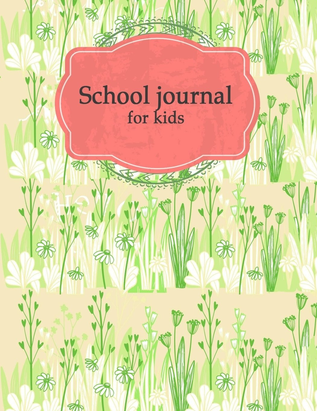 """School journal for kids: Planner with Class Schedules, Passwords, Notes and Daily Planner, Homework, checklist...120 Pages 8.5"""" x 11"""" pdf epub"""