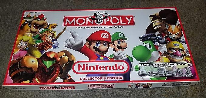 Overseas edition Monopoly Nintendo Collectors Edition ...