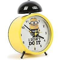 "Disney ""Dave Minions Reloj Despertador, Color Amarillo"