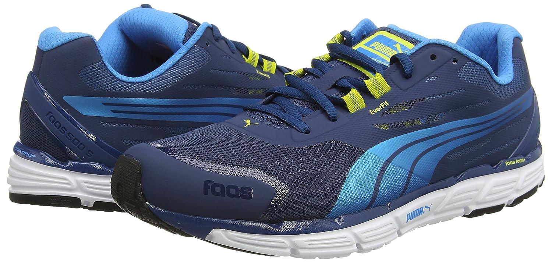 4c5557fa3c98f Amazon.com | PUMA Faas 500 S v2 Mens Running Sneakers/Shoes-Blue-7.5 ...