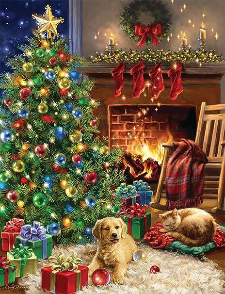Amazon.com: Springbok's 500 Piece Jigsaw Puzzle Christmas Morning ...