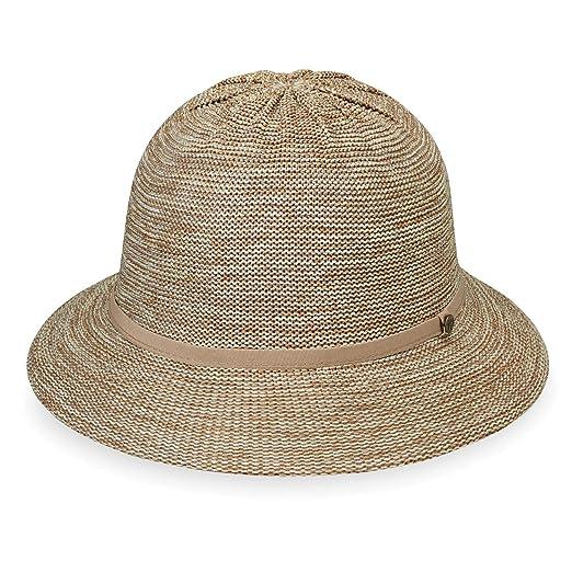5cf27f14b8f Wallaroo Hat Company Women s Tori Sun Hat - Mixed Camel - UPF 50+ ...