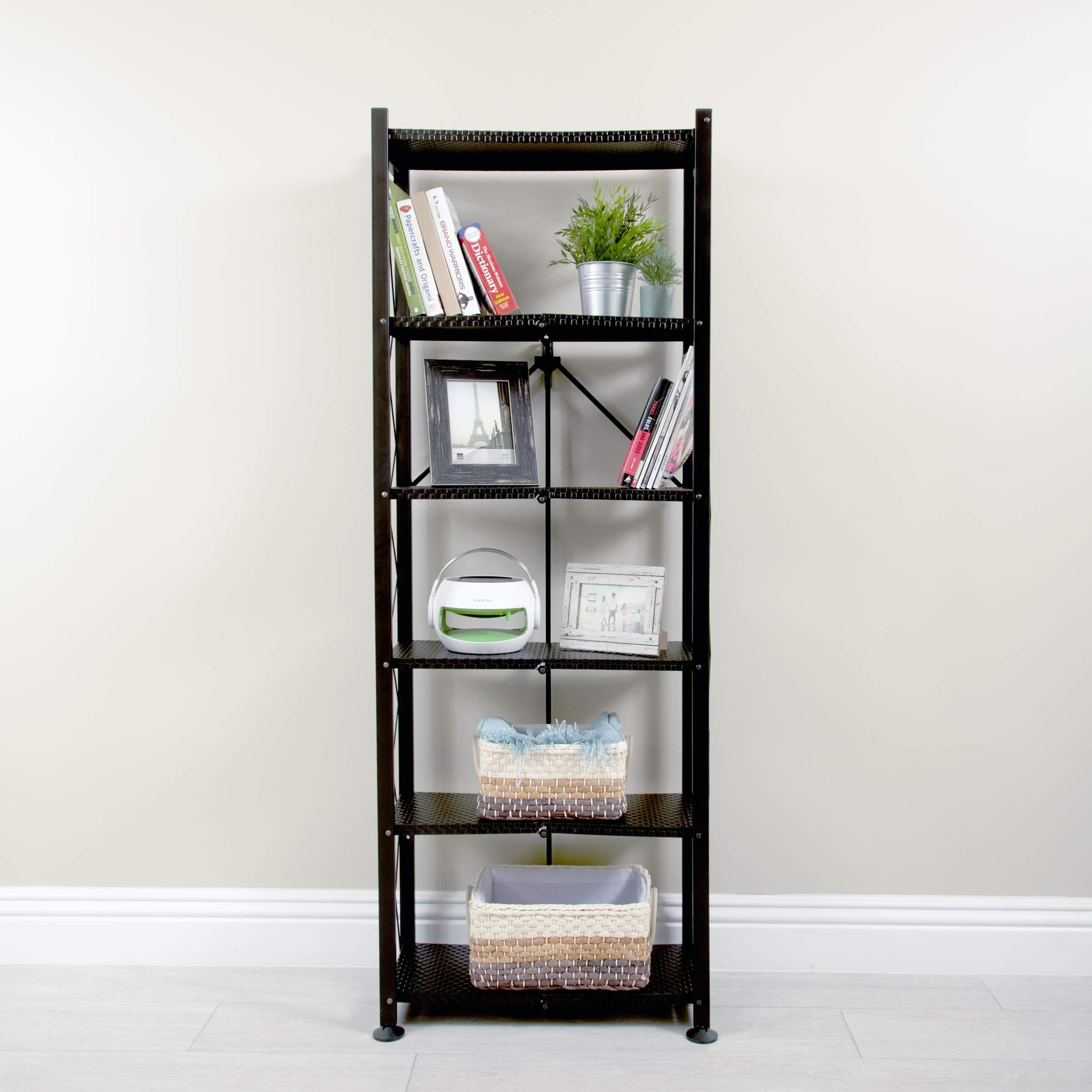 Origami RB-OTM 6-Tier Book Shelf, Bronze