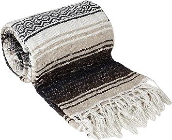 Canyon Creek Mexican Style Falsa Yoga Blanket (Tan)