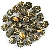 250g Jasmine Pearls (Dragon Pearls) Premium Loose Leaf Green Tea - Chiswick Tea Co