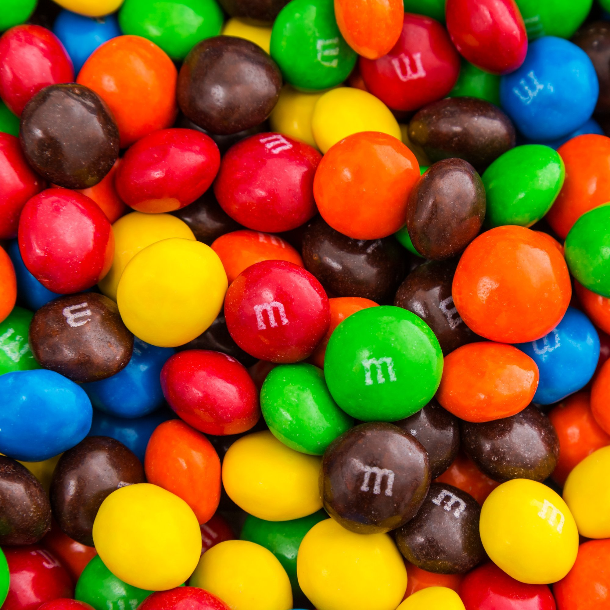 Bulk Peanut Butter M&Ms in Resealable Bomber Bag, Wholesale Peanut Candy Treats (5lb Bag) by Fast Fresh Nuts (Image #4)