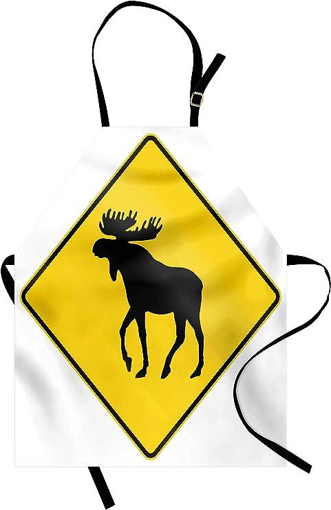 Lunarable Moose Apron