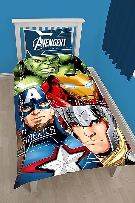 Copripiumino Singolo Avengers.Marvel Avengers Belltex Set Copripiumino Singolo In Poliestere E