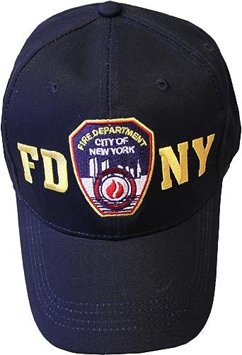 FDNY gorra de béisbol con insignia del departamento de bomberos de ...