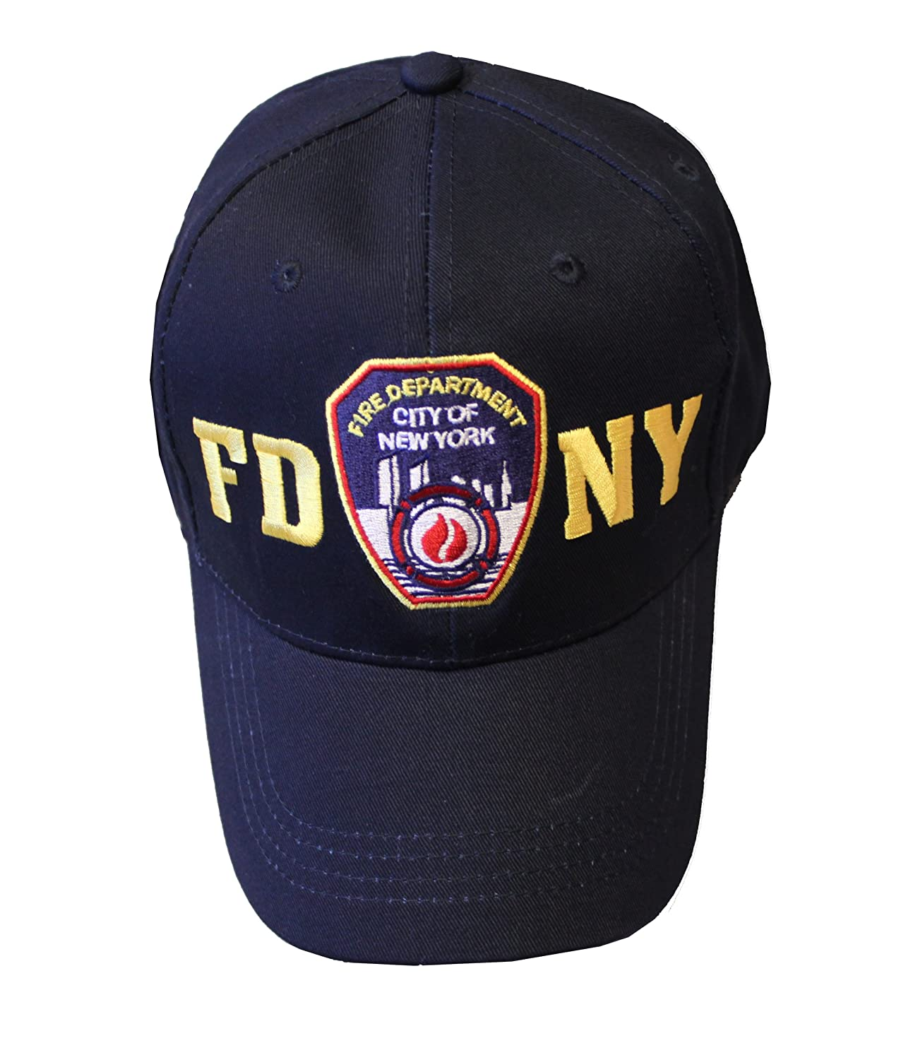 Amazon.com  FDNY Junior Kids Baseball Hat Fire Department of New York Navy  Blue One Size  Clothing 4ac20f9213e