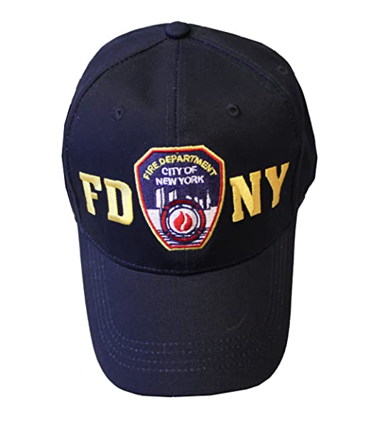 9472b5906 FDNY Junior Kids Baseball Hat Fire Department of New York Navy Blue One Size