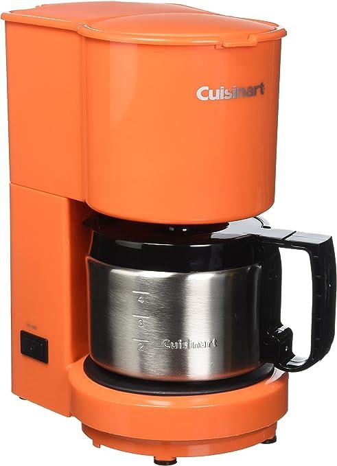 Cuisinart dcc-450orfr (4 tazas cafetera con jarra de acero ...