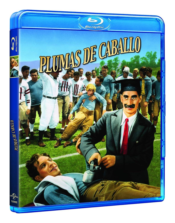 Plumas De Caballo [Blu-ray]: Amazon.es: Groucho Marx, Chico Marx ...