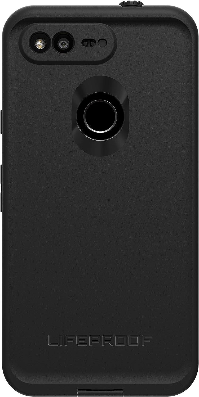 """Lifeproof FRĒ SERIES Waterproof Case for Google Pixel XL (5.5"""" VERSION ONLY) - Retail Packaging - ASPHALT (BLACK/DARK GREY)"""