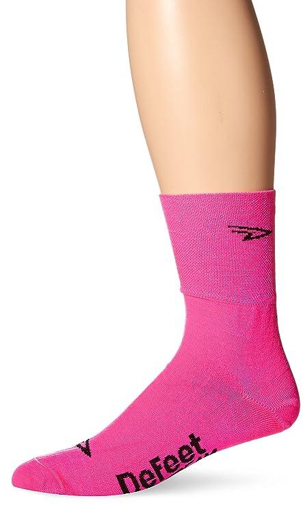 Defeet Slipstream Socks, Hi-Vis Pink, Small/Medium