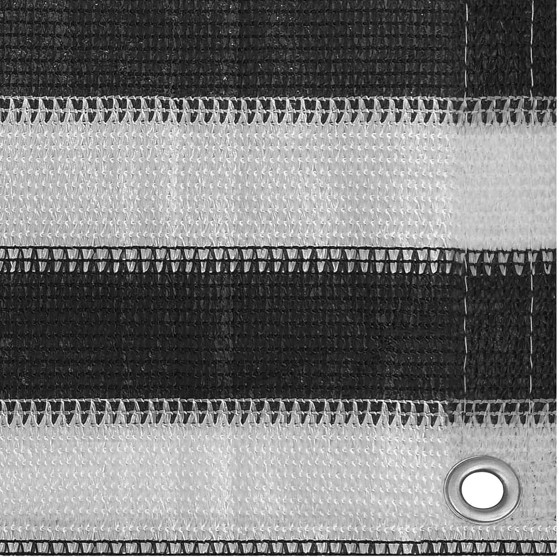 Tidyard Zeltteppich Vorzeltteppich Zeltboden f/ür Camping Markisenteppich Wohnmobil Robuster Campingteppich HDPE Anthrazit und Wei/ß 250 x 400 cm