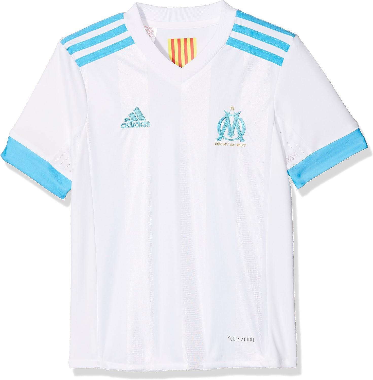 adidas Om Replica Home Camiseta 1ª Equipación Olympique Marsella 2017-2018 Niños: Amazon.es: Ropa y accesorios