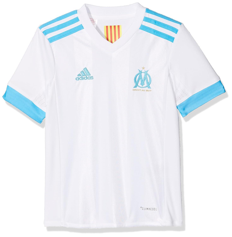 7e996ce6fdd adidas Olympique de Marseille Home Boys' Football Jersey, boys, BK5367:  Amazon.co.uk: Sports & Outdoors