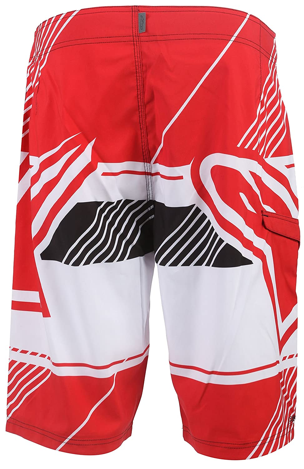 Alpinestars Men's Beta Boardshort Red 32