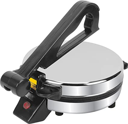 Vola VRM-9001 1000-Watt Jumbo Roti Maker (Silver) Roti Makers at amazon