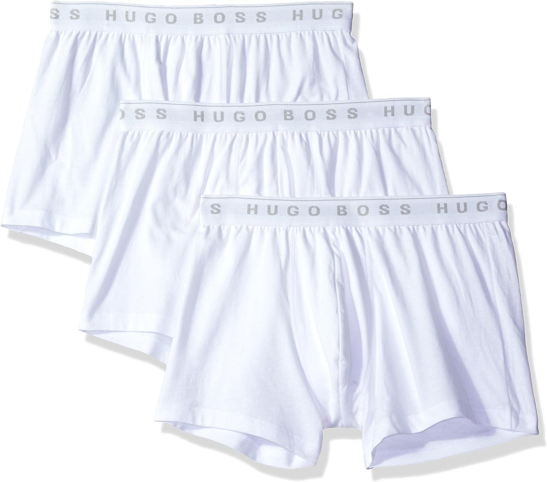 Hugo Boss 50325383 Men's 3-Pack Cotton Trunk: Clothing