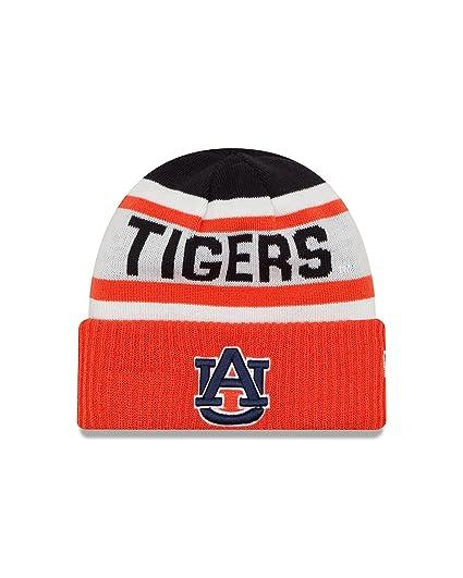 Amazon.com   New Era NCAA Auburn Tigers Biggest Fan 2.0 Cuff Knit ... cb7720d36b84