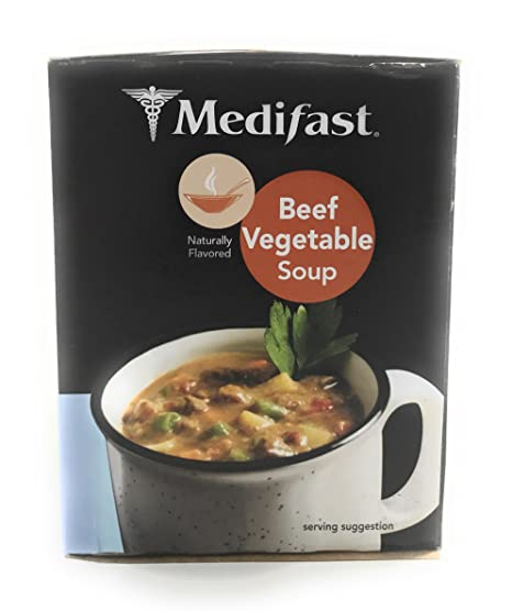 Amazon Com Medifast Beef Vegetable Soup 1 Box 7 Servings Health Personal Care