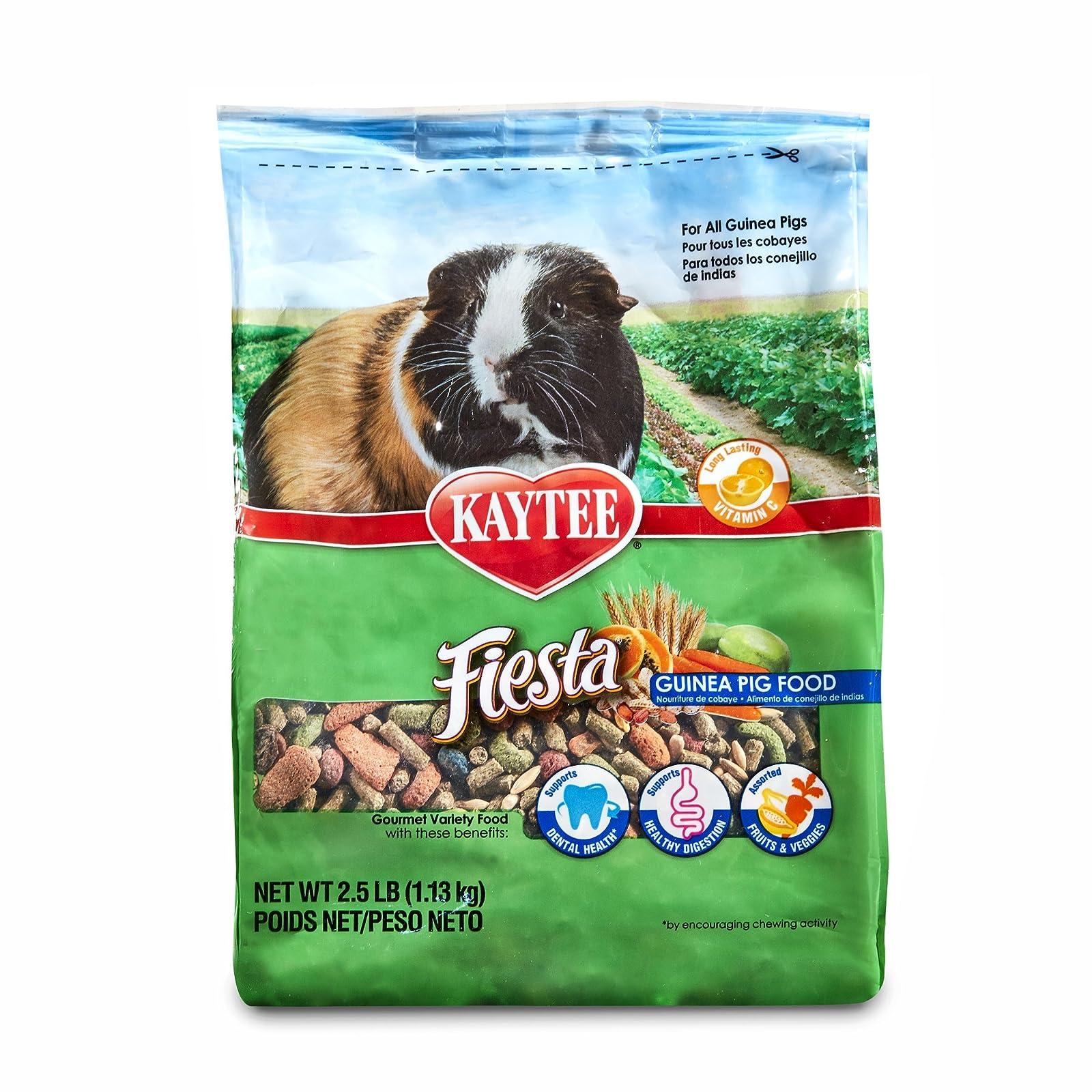 Kaytee Fiesta Guinea Pig Food 100032313 Browns - 1