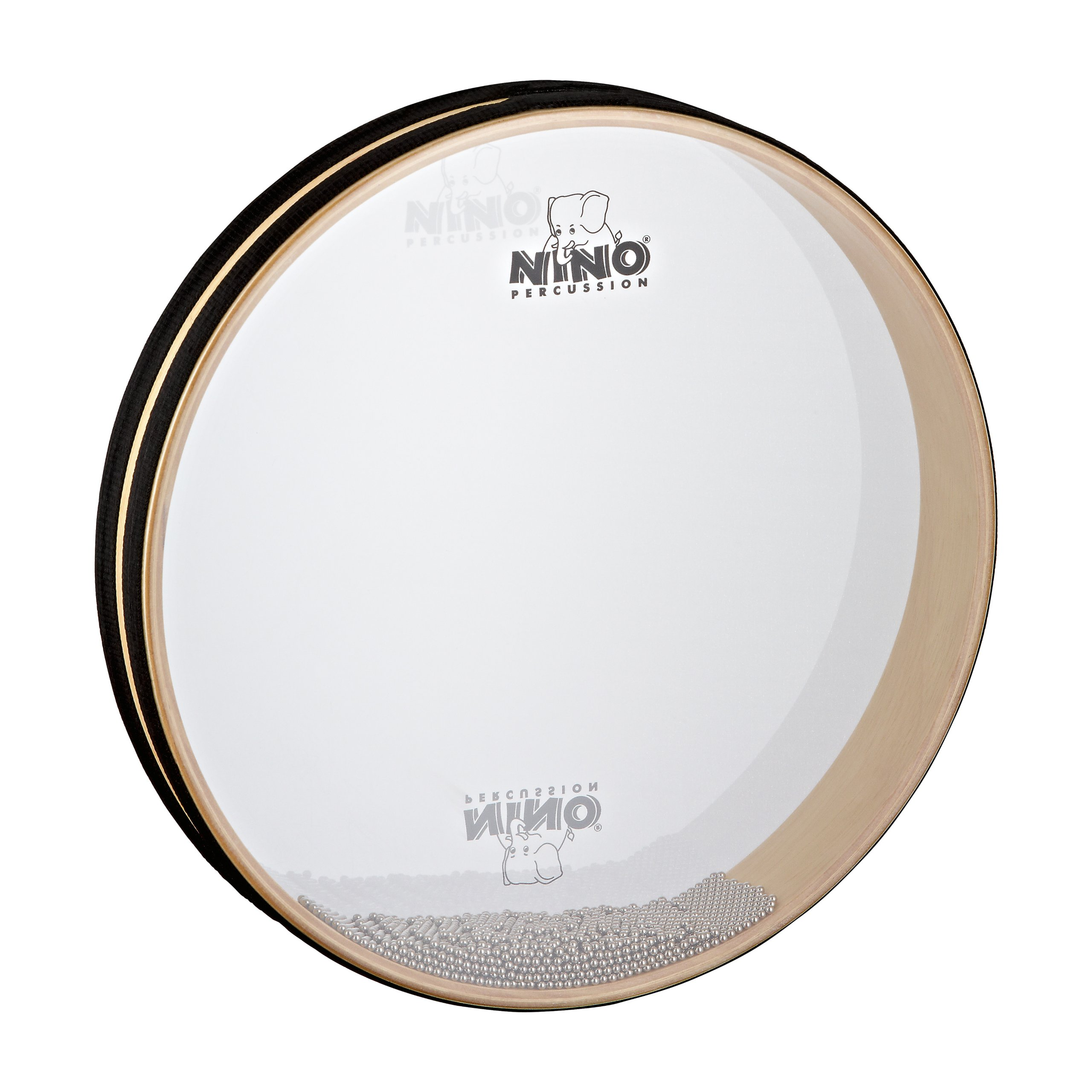 Nino Percussion NINO35 12-Inch Sea Drum with Synthetic Head, Natural Finish