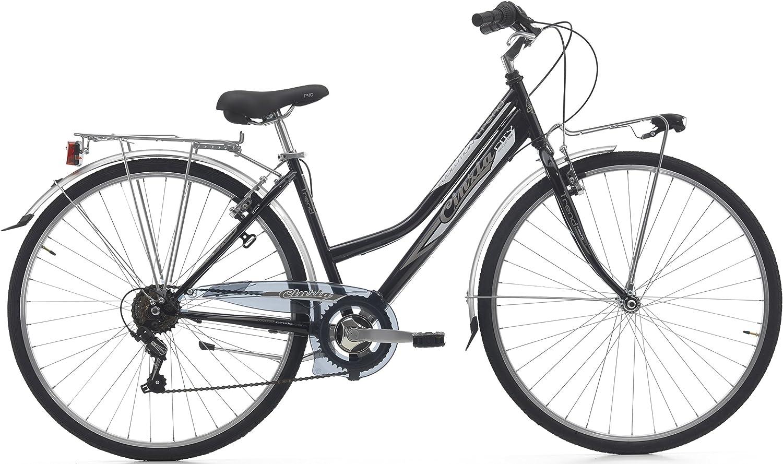 28 Pulgadas Bicicleta de Trekking Mujer 6 velocidades Cinzia Trend ...