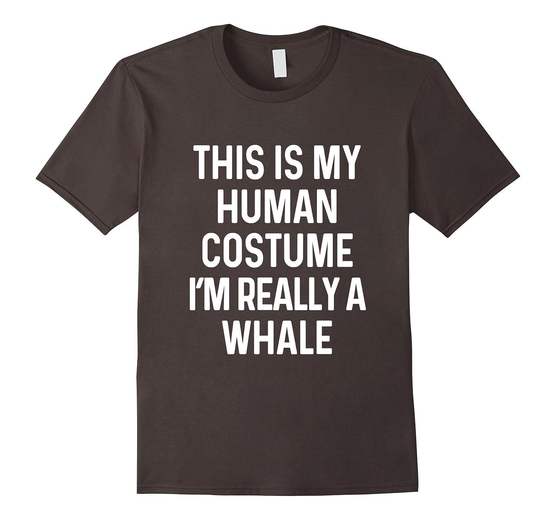 Funny Whale Costume Shirt Halloween Adults Kids Men Women-T-Shirt