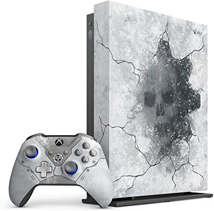 Microsoft - Xbox One X 1TB Gears 5 Limited Edition Arctic Blue ...