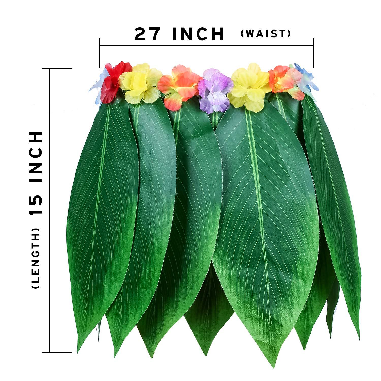 Amazon Ti Leaf Hula Skirt Hawaiian Leaf Skirt Green Grass Skirt
