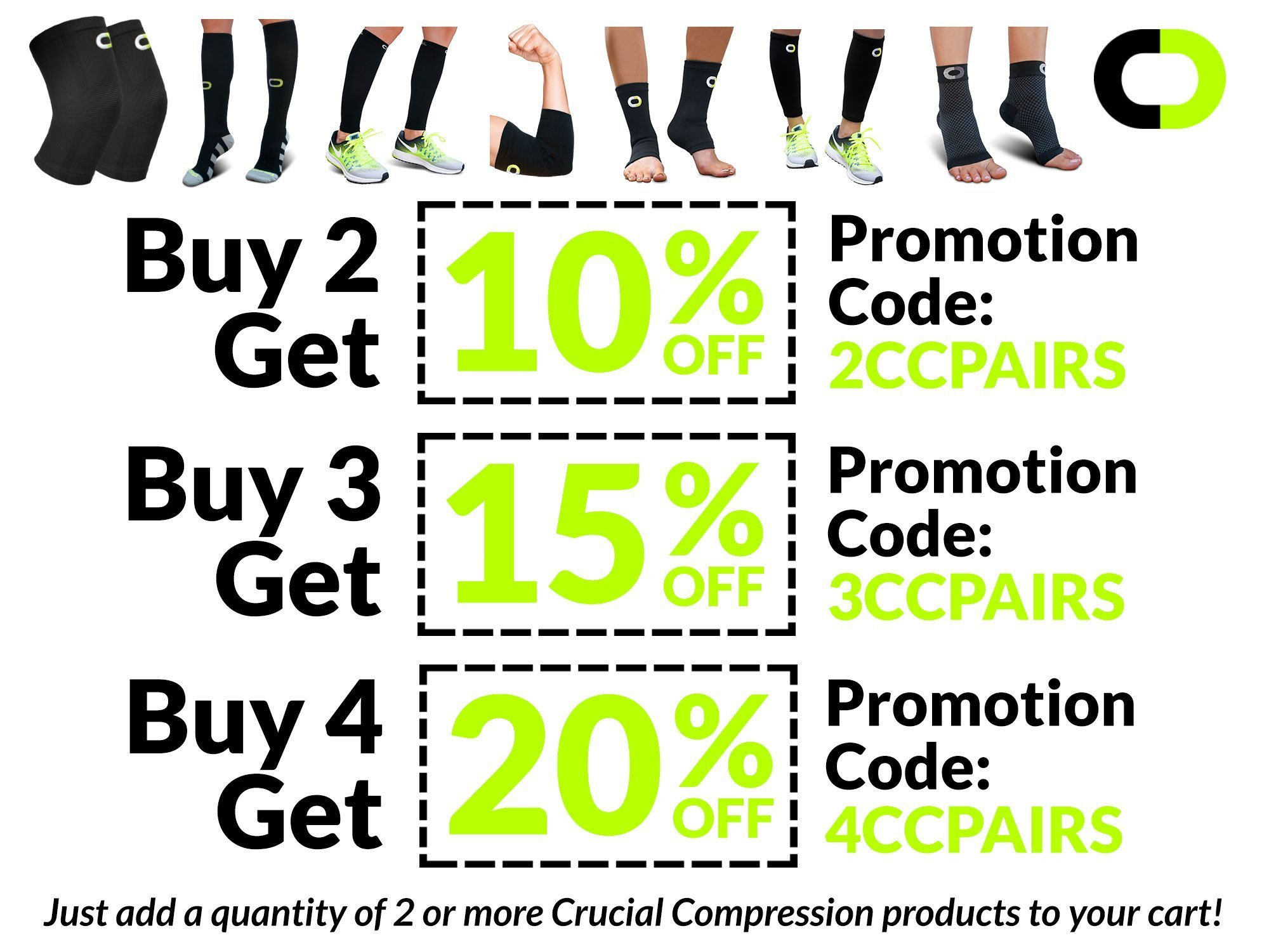 Ankle Brace Compression Sleeve for Men & Women (1 Pair) – BEST Ankle Support Braces for Pain Relief, Injury Recovery, Swelling, Sprain, Achilles Tendon Support, Heel Spur, Plantar Fasciitis Foot Sock by Crucial Compression (Image #7)