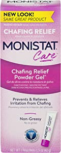 Monistat Care Chafing Relief Powder Gel | Anti Chafe Protection | 1.5 OZ