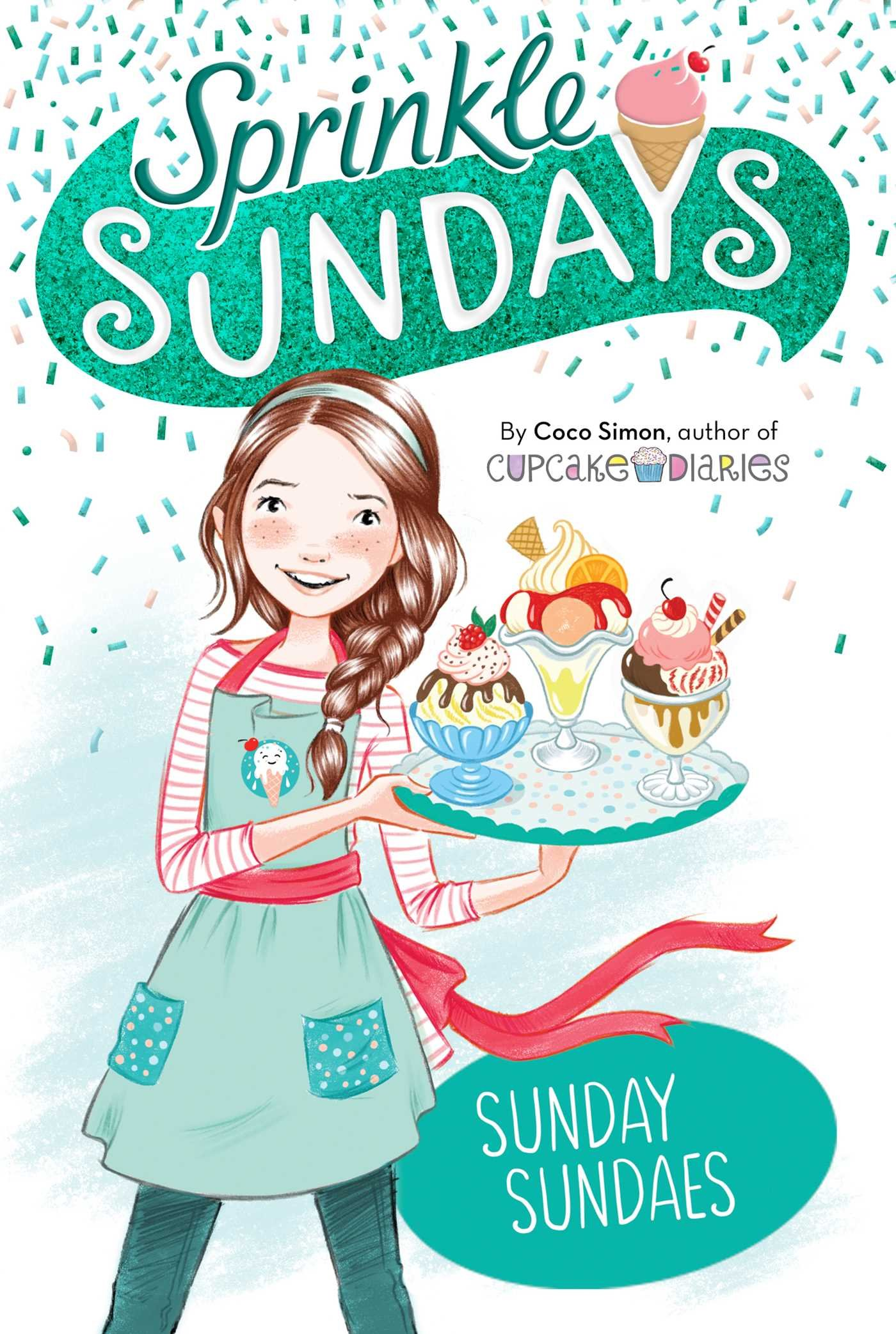 Sunday Sundaes (Sprinkle Sundays): Coco Simon: 9781534417465: Amazon ...