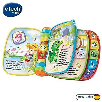 VTech Baby - Primeras canciones, Libro musical infantil con ...