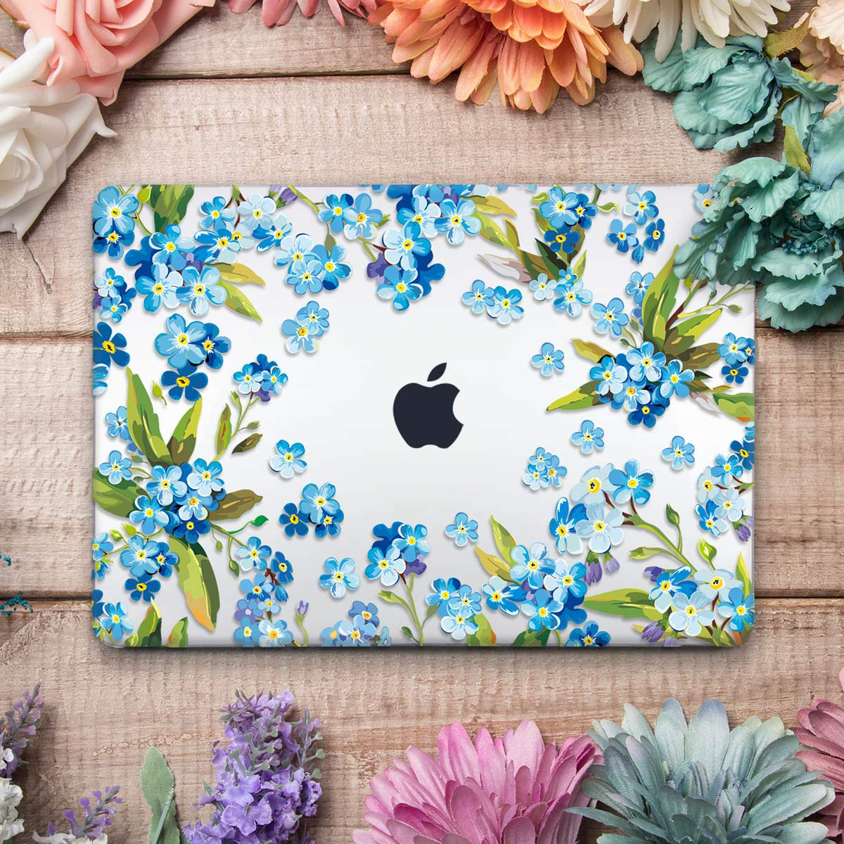 Funda Funda Funda MacBook Pro 13 2016 2017, TwoL Plástico Funda Dura Carcasa para MacBook Pro 13 Pulgadas con/sin Touch Bar (Cerebro Creativo) b4b120