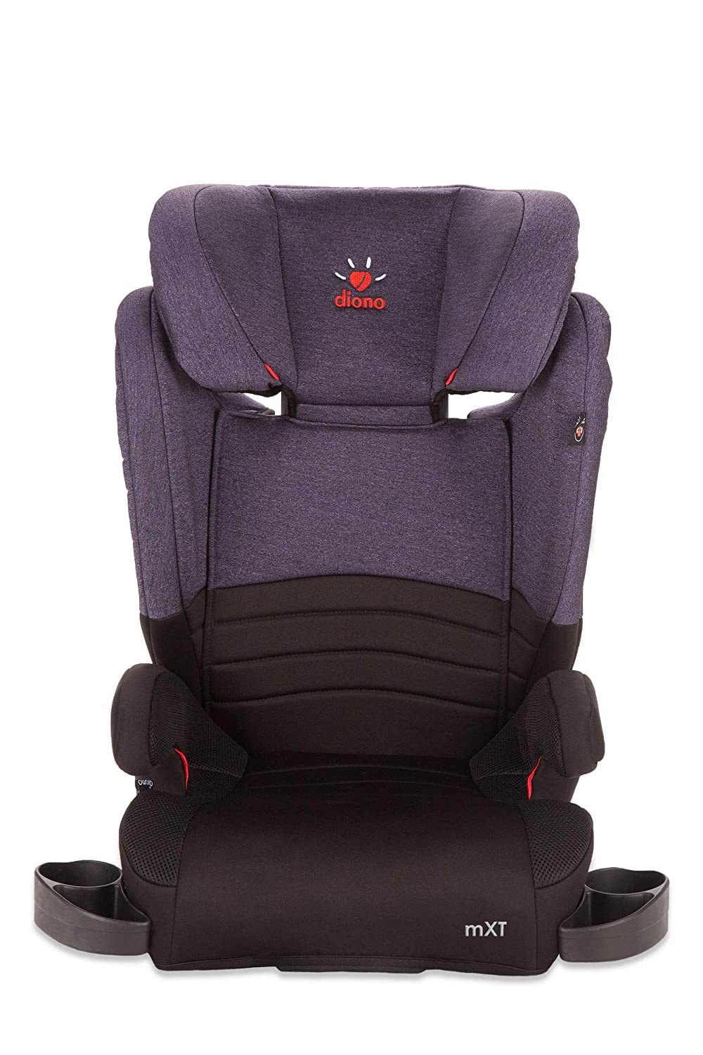2-in-1 Expandable Booster Seat Purple Discontinued by Manufacture Diono Monterey XT LATCH
