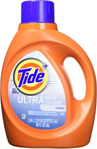 Tide Ultra Stain Release Liquid Laundry Detergent, 2.04 L (36 Loads)