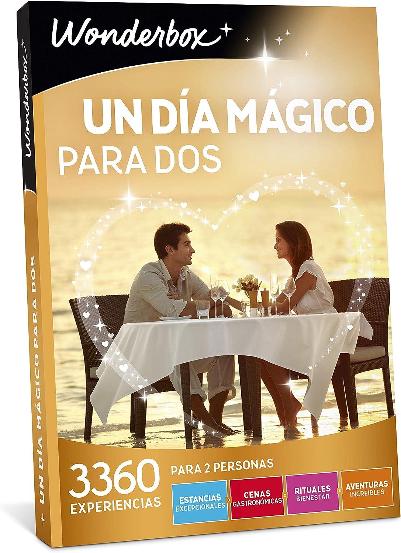 WONDERBOX Caja Regalo - UN Dia MÁGICO para Dos - 3.360 experiencias en España y Europa: Amazon.es: Deportes y aire libre