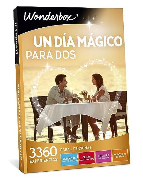 WONDERBOX Caja Regalo - UN Dia MÁGICO para Dos - 3.360 ...