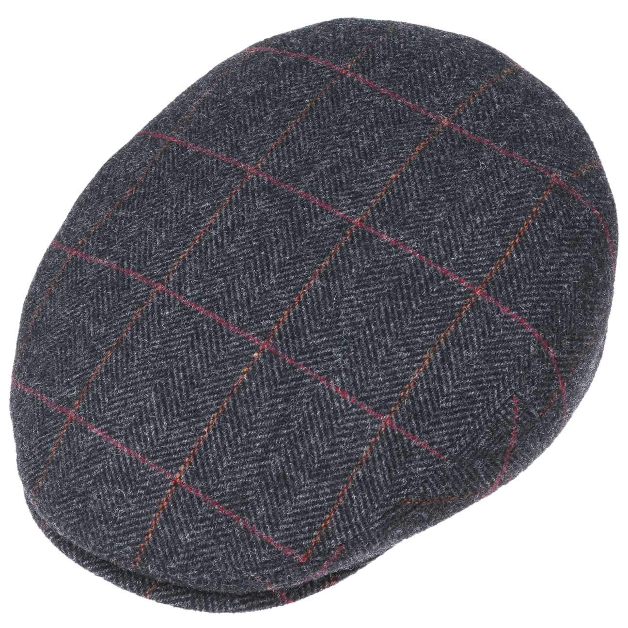 f8c6cdd75c678 Amazon.com  Stetson Kent Wool Ivy Cap with Earflaps Men  Clothing