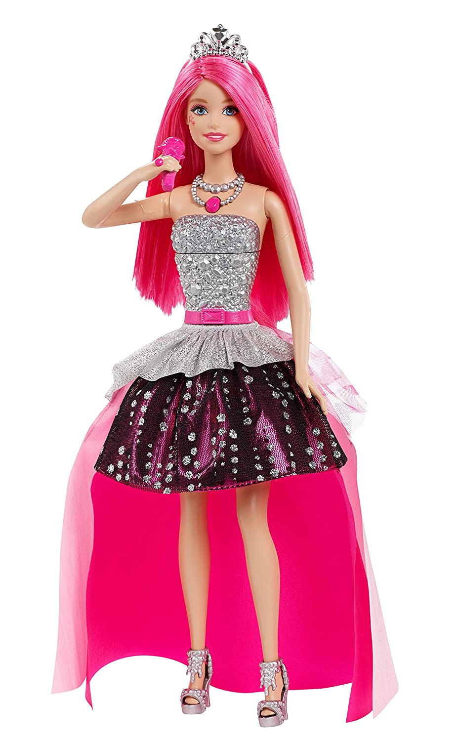 Amazoncom Barbie in Rock N Royals Singing Courtney Doll Toys