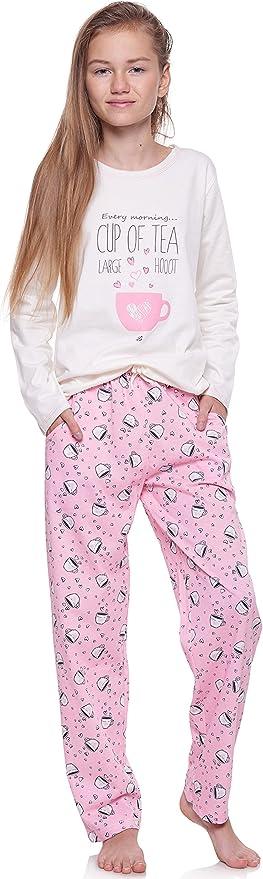 Merry Style M/ädchen und Jugendlicher Schlafanzug 1033