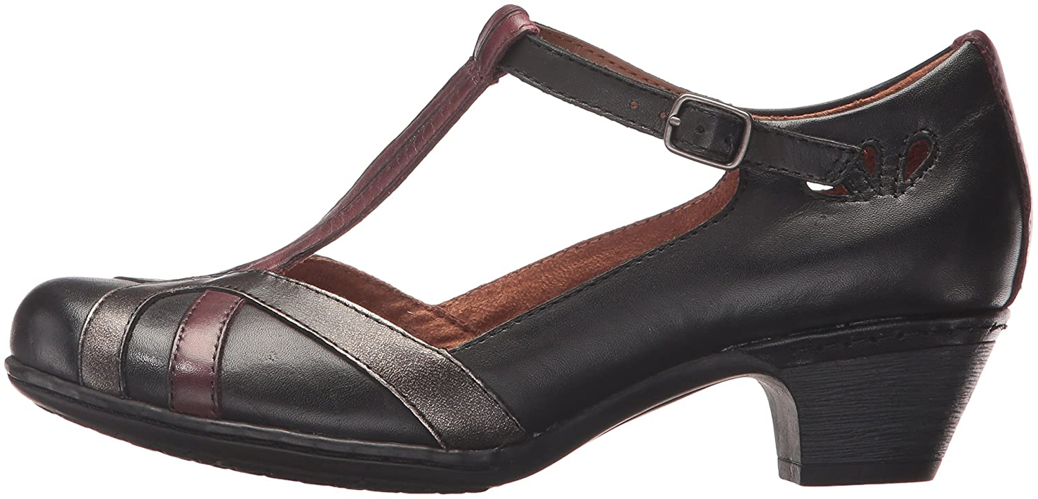 Cobb Hill Rockport Women's Angelina Dress Pump B01N29JDGS 11 N US|Black/Multi