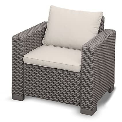 Yukon Glory Premium All Season Outdoor Furniture Wicker Patio Furniture Armchair Comfortable Easy Assembly Chair  sc 1 st  Amazon.com & Amazon.com : Yukon Glory Premium All Season Outdoor Furniture Wicker ...