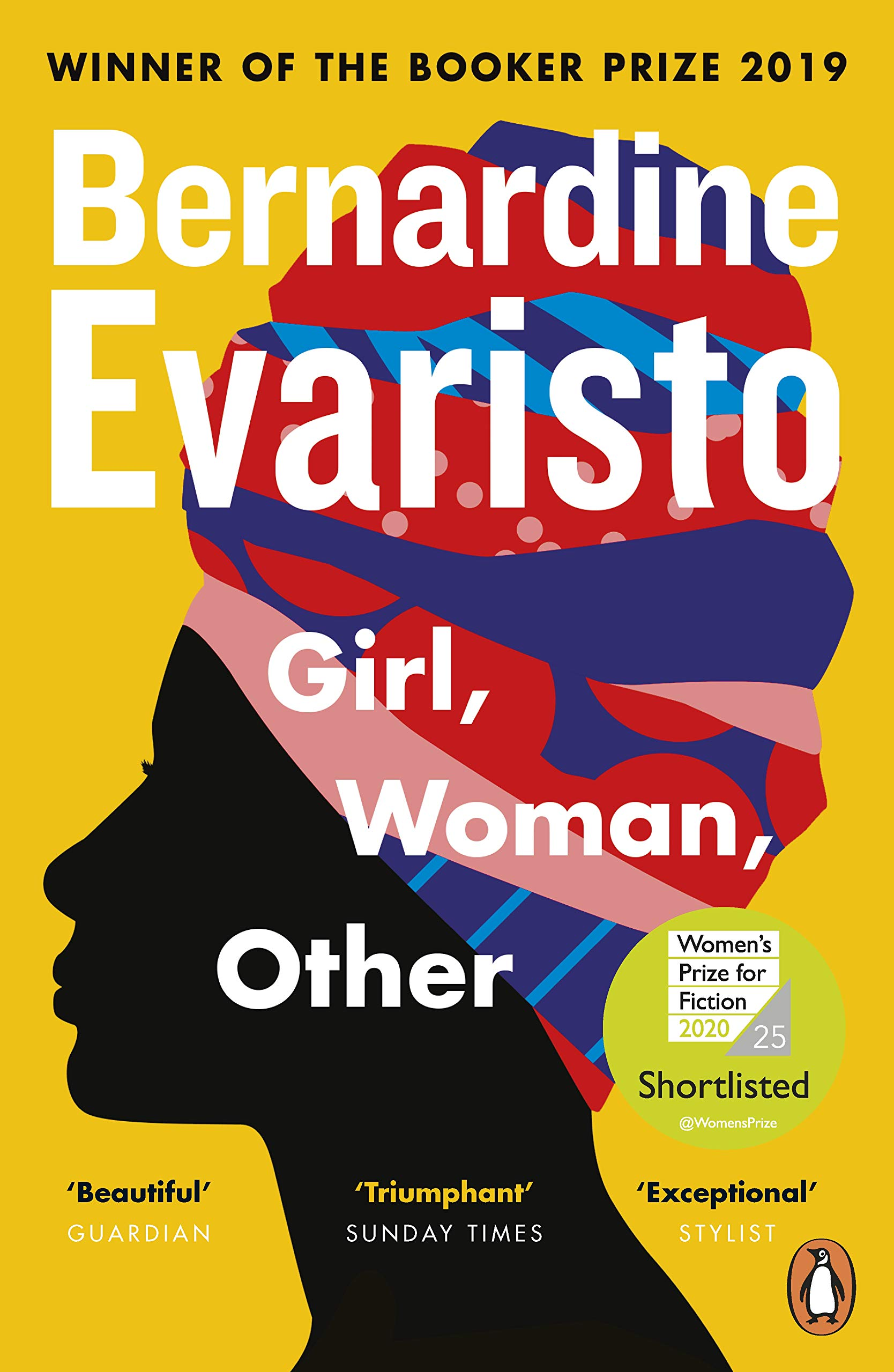 Girl, Woman, Other: WINNER OF THE BOOKER PRIZE 2019: Amazon.co.uk:  Evaristo, Bernardine: 9780241984994: Books