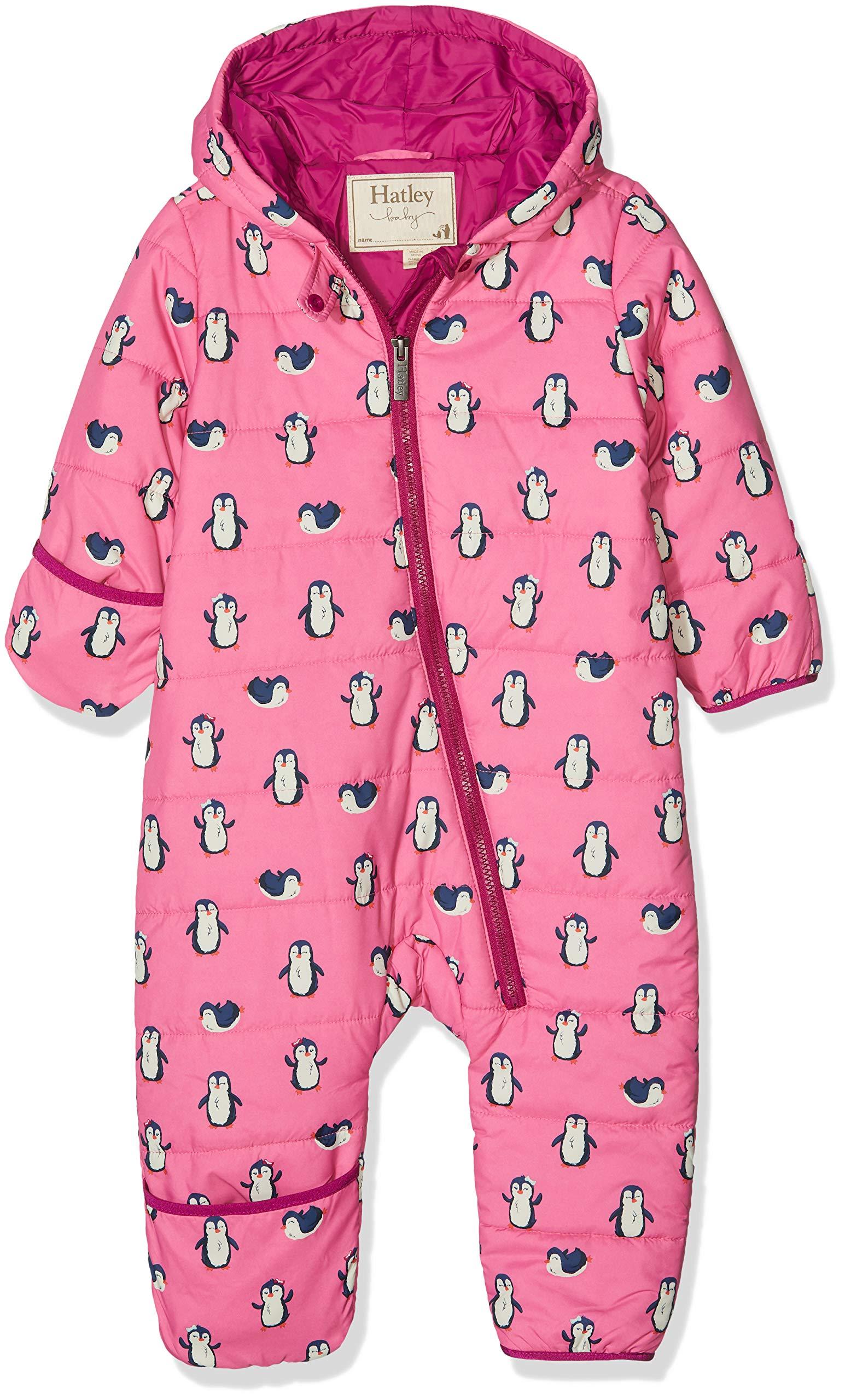 Hatley Baby Girls Winter Bundlers, Precious Penguin, 9-12 Months by Hatley